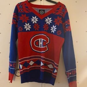 New - Holiday NHL Holiday Sweater